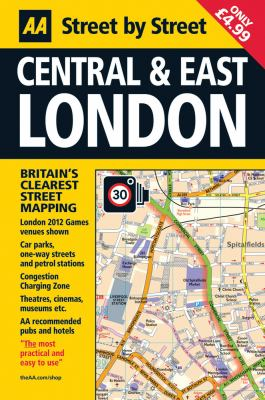 Central & East London: Street by Street 9780749572464