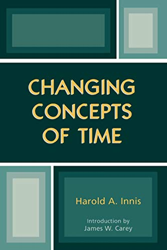 Changing Concepts of Time 9780742528185