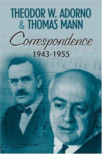 Correspondence 1943-1955 9780745632001