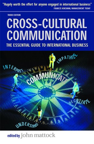 crosscultural business communication The rising importance of cross cultural communication in global business scenario corresponding author: dr prasanta kumar padhi 21 | page.