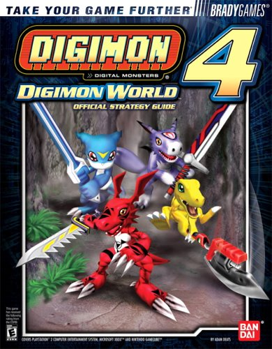Digimon World 4 Official Strategy Guide 9780744004045