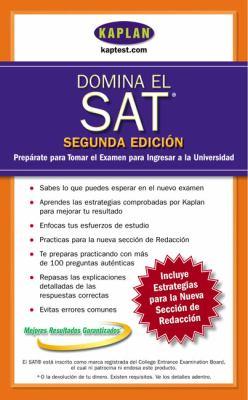 Domina el SAT: Preparate Para Tomar el Examen Para Ingresar a la Universidad 9780743266543