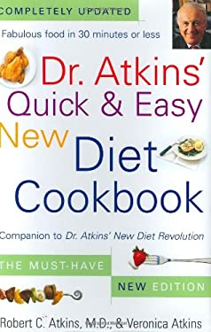Dr atkins 39 quick easy new diet cookbook by robert c for Atkins quick cuisine