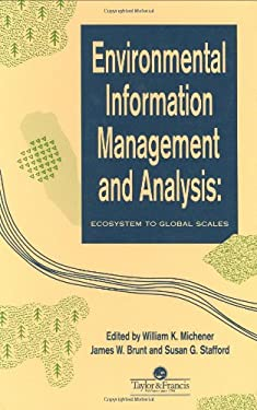 Environmental Information Management and Analysis 9780748401239