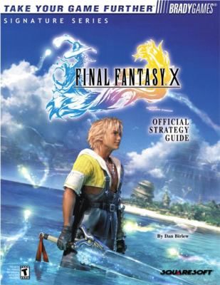 Final Fantasy X Official Strategy Guide 9780744001402