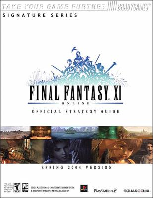 Final Fantasya XI Official Strategy Guide for Ps2 & PC 9780744003680