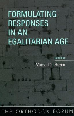 Formulating Responses in an Egalitarian Age 9780742545977