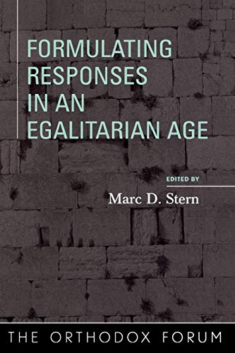 Formulating Responses in an Egalitarian Age 9780742545984