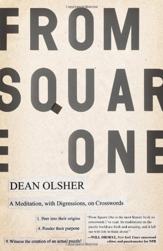 From Square One: A Meditation, with Digressions, on Crosswords 9780743287623