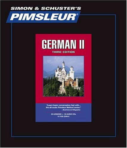 German II, Comprehensive: Learn to Speak and Understand German with Pimsleur Language Programs 9780743523493