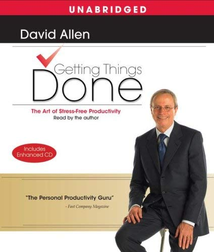 Getting Things Done: The Art of Stress-Free Productivity 9780743571654