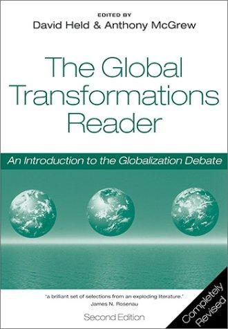 Global Transformations: Politics, Economics and Culture 9780745631356