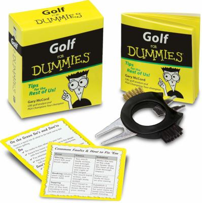 Golf for Dummies [With 2 Reference Cards of Golf Tips and Seven-In-One Golf Tool and Booklet] 9780740763816