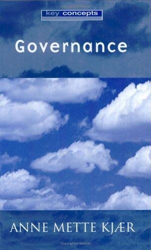 Governance 9780745629780