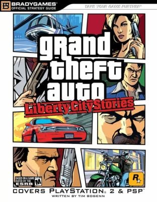 Grand Theft Auto: Liberty City Stories (Ps2) Official Strategy Guide 9780744007633