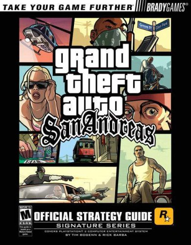 Grand Theft Auto San Andreas 9780744004298