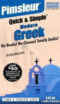 Greek (Modern): 2nd Ed. 9780743507738
