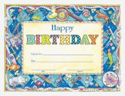 Happy Birthday Award 9780742403598