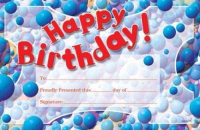 Happy Birthday Pat-On-The-Back Award 9780742403567