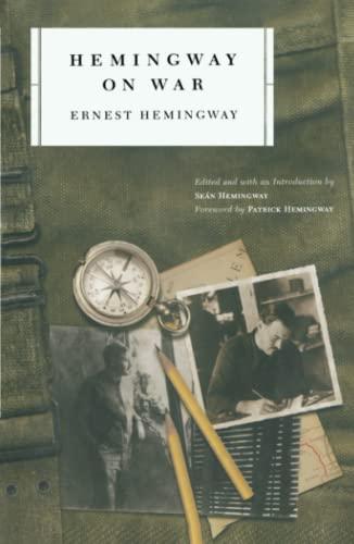 Hemingway on War by Ernest Hemingway,Sean Hemingway