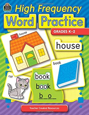 High Frequency Word Practice, Grades K-2 9780743937054