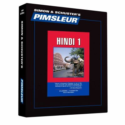 Hindi: Learn to Speak and Understand Hindi with Pimsleur Language Programs 9780743552585