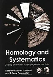 Homology and Systematics: Coding Characters for Phylogenetic Analysis 2781044