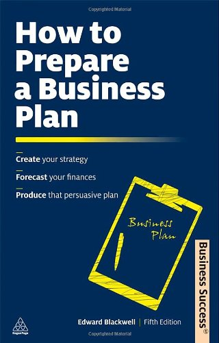 How to Prepare a Business Plan 9780749462529