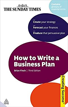 How to Write a Business Plan 9780749455828