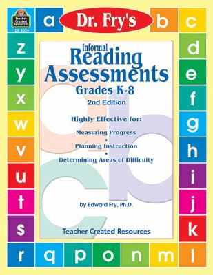 Informal Reading Assessments by Dr. Fry 9780743930741