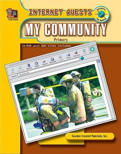 Internet Quests: My Community [With CDROM] 9780743934046