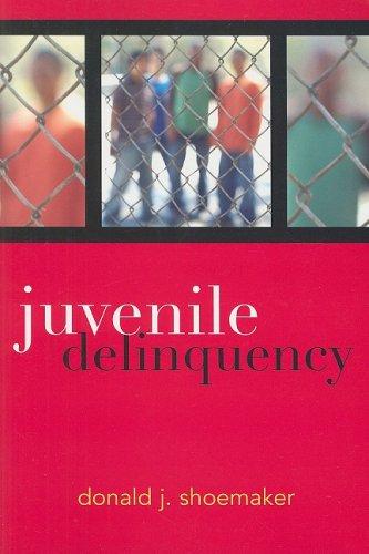 Juvenile Delinquency 9780742547070