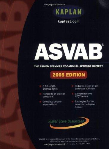 Kaplan ASVAB 2005 9780743214018