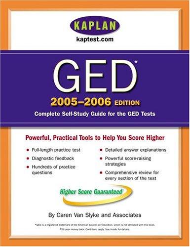 Kaplan GED 2005-2006 9780743251662
