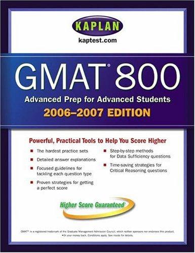 Kaplan GMAT 800 9780743279314