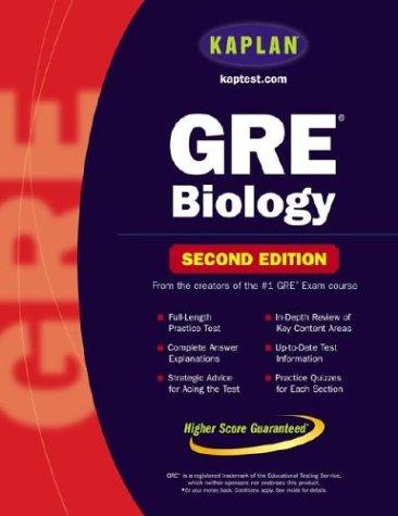 Kaplan GRE Biology 9780743241380