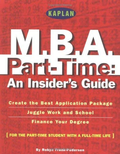 Kaplan MBA Parttime 9780743201889