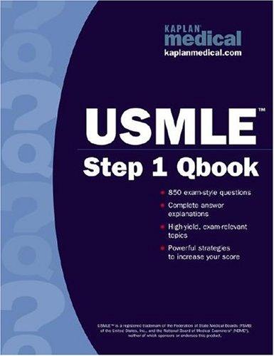 Kaplan Medical USMLE Step 1 Qbook 9780743262385