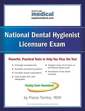 Kaplan National Dental Hygienist Licensure Exam 9780743262576