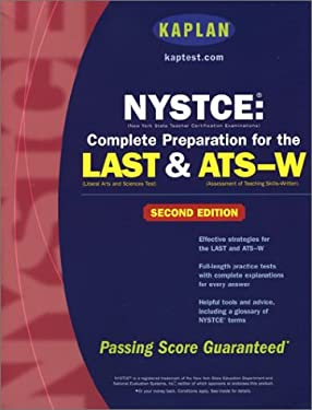 Kaplan Nystce: Complete Preparation for the Last & Ats-W, Second Edition 9780743240970