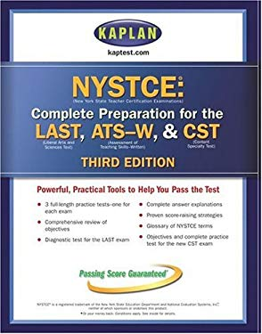 Kaplan Nystce, Third Edition: Complete Preparation for the Last & Ats-W 9780743266567