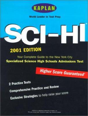Kaplan Sci-Hi Admissions Test 2001 9780743201810