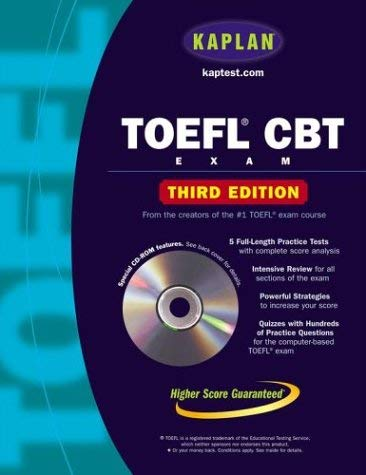 Kaplan TOEFL CBT [With CDROM]
