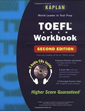 Kaplan TOEFL Workbook with 3 Audio CDs, Second Edition 9780743230582