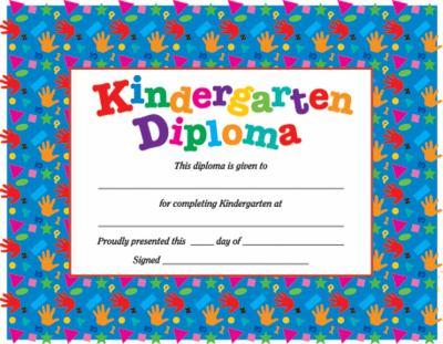 Kindergarten Diploma 9780742403253