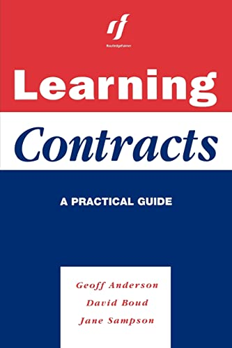Learning Contracts: A Practical Guide 9780749418472
