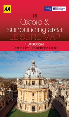 Leisure Map Oxford and Surrounding Area 9780749572969