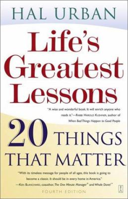 Life's Greatest Lessons: 20 Things That Matter 9780743237826