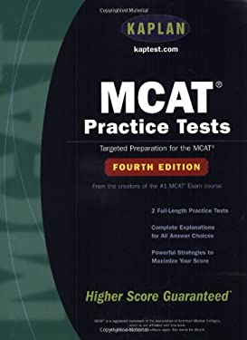 MCAT Practice Tests: Fourth Edition 9780743241113