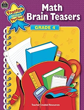 Math Brain Teasers Grade 4 9780743937542